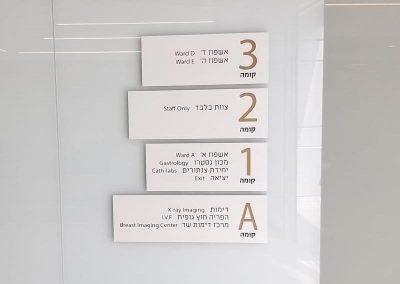 מספר שלטי דלת מעוצבים